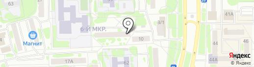 Интергаз-Сервис на карте Тобольска