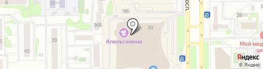 Долголет на карте Тобольска