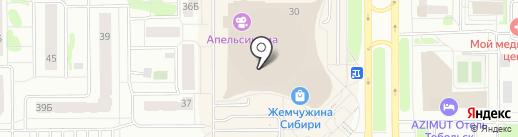 Ice-cream house на карте Тобольска