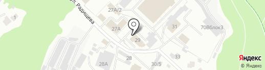 Мебельщик на карте Тобольска