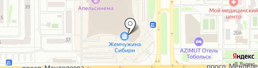 ЮГОРСКИЙ АЛЬЯНС на карте Тобольска