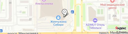 Дом кухни на карте Тобольска