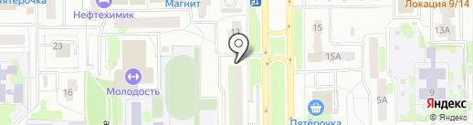КБТ-сервис на карте Тобольска