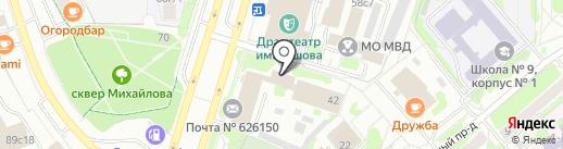 Ростелеком, ПАО на карте Тобольска