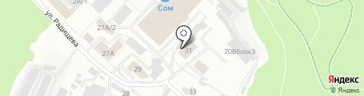 Тобольская МК №15 на карте Тобольска