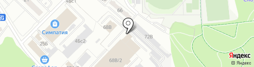 СМУ-17 на карте Тобольска