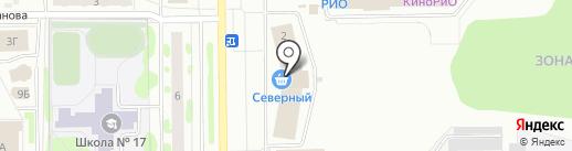 Славяночка на карте Тобольска