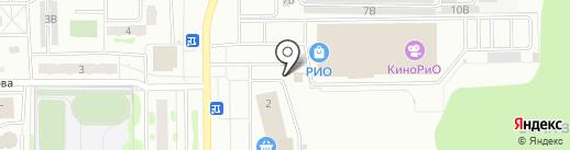 Шаурма на карте Тобольска