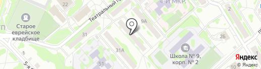 Пума на карте Тобольска