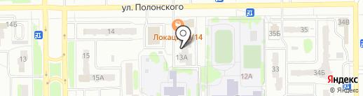 Назар на карте Тобольска
