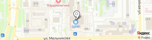 Eva Secret на карте Тобольска