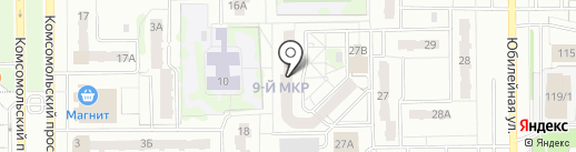 Антикор-М на карте Тобольска