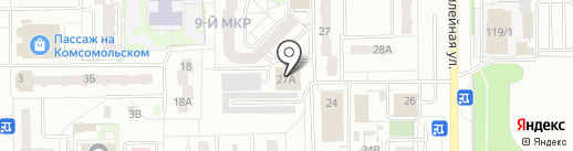 Автоюрист на карте Тобольска