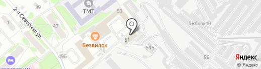 ТобДизайн на карте Тобольска