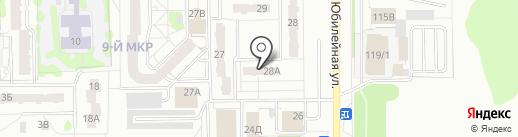 ТВЭЛ-Тобольск на карте Тобольска