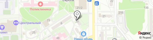 Lexx на карте Тобольска
