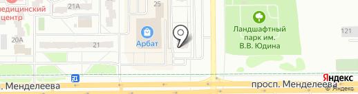 Визард на карте Тобольска