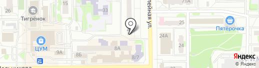 Ремонтная мастерская на карте Тобольска