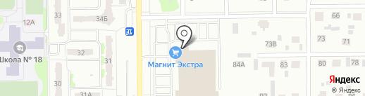 Комфорт 24 на карте Тобольска