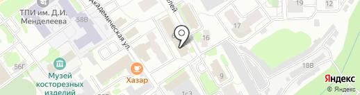 ПромСтройПроект на карте Тобольска