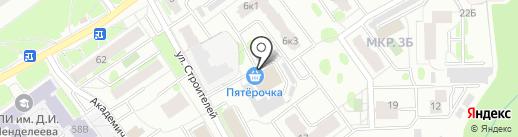 Мебельный центр на карте Тобольска