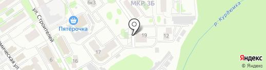 Вега на карте Тобольска