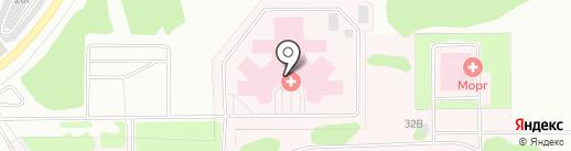 Консультативно-диагностическое отделение областной больницы №3 г. Тобольска на карте Тобольска