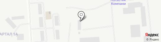 Айрон на карте Тобольска