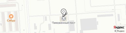 Тобольский таможенный пост на карте Тобольска