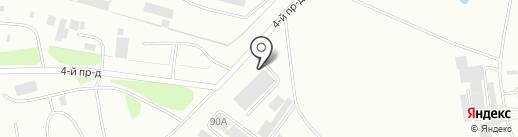 Югорская Стекольная Компания на карте Нефтеюганска