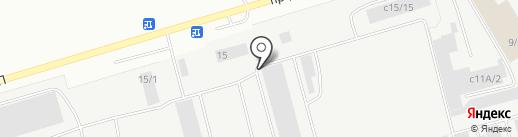 РЕМСЕРВИС на карте Нефтеюганска