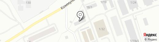 Мясной магазин на карте Нефтеюганска