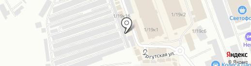 Тархан на карте Нефтеюганска