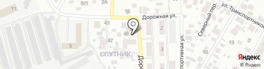 Центральный на карте Нефтеюганска