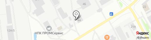 Mobil 1 на карте Нефтеюганска