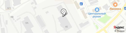 Партнер-Инвест на карте Нефтеюганска