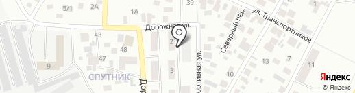 Зодчий на карте Нефтеюганска