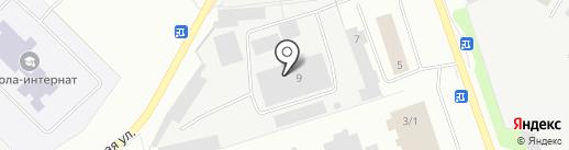 Алит-Проф на карте Нефтеюганска