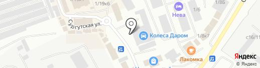 Kolesa Darom на карте Нефтеюганска
