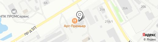 Рандеву на карте Нефтеюганска