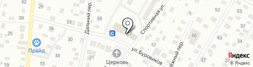 Украина на карте Нефтеюганска