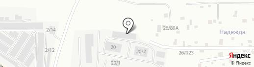 ЮНИАЛ на карте Нефтеюганска
