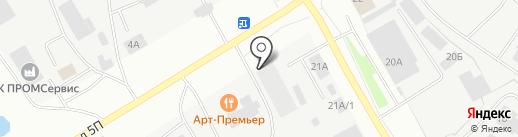 Ай-Нур на карте Нефтеюганска