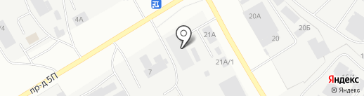 Нур-Ай на карте Нефтеюганска