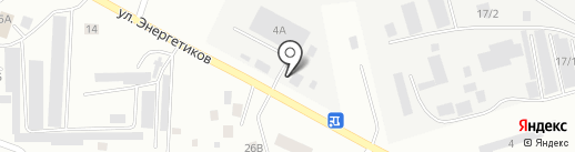 Везерфорд на карте Нефтеюганска