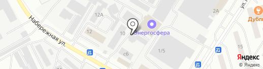Элита на карте Нефтеюганска