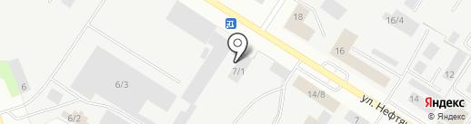Автозапчасти Cummins на карте Нефтеюганска