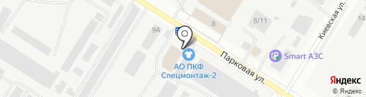 Магазин спецодежды на карте Нефтеюганска