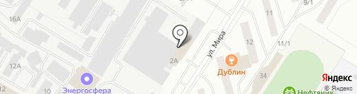 Фабрика Окон на карте Нефтеюганска