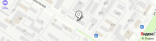 Аэлита на карте Нефтеюганска